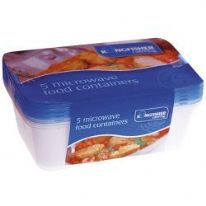 Kingfisher Micro Food Containers - 5 Pack